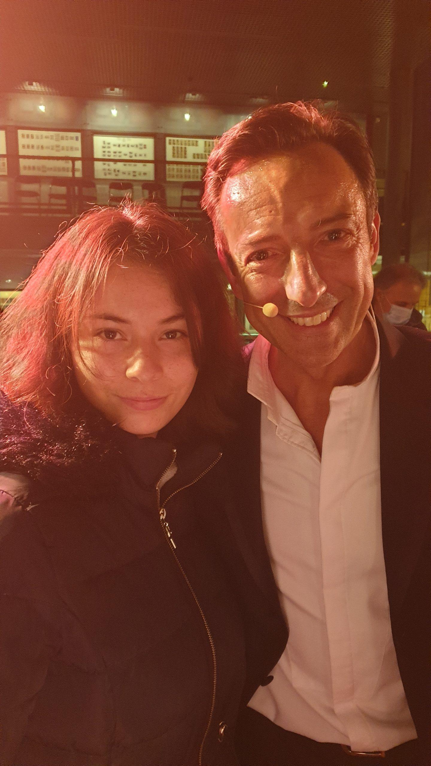 Ma fille avec Antonio