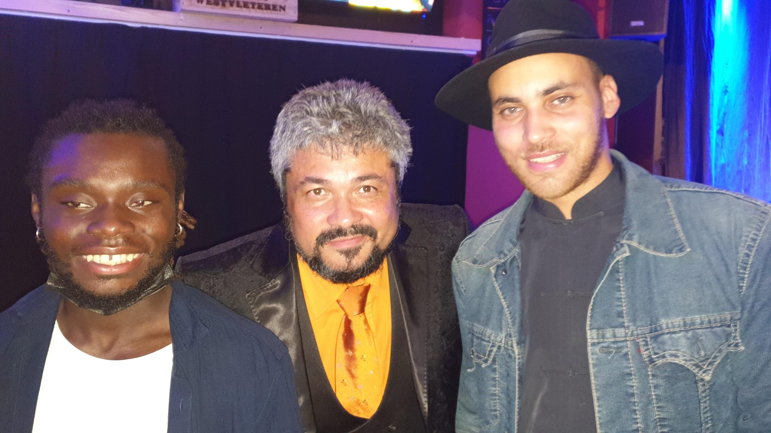 avec MOZ et Anthony