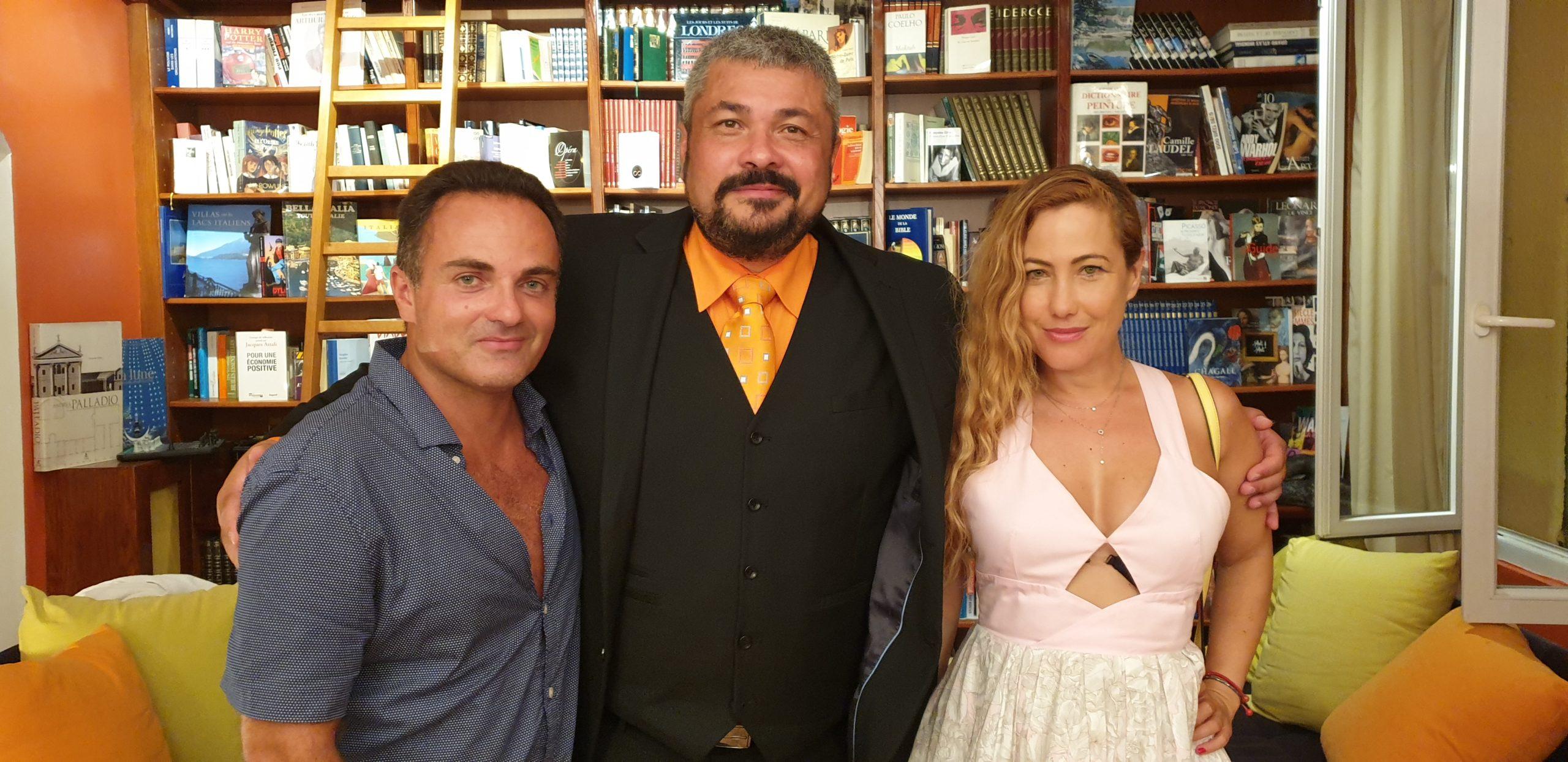 Myriam Charleins et Laurent Amar