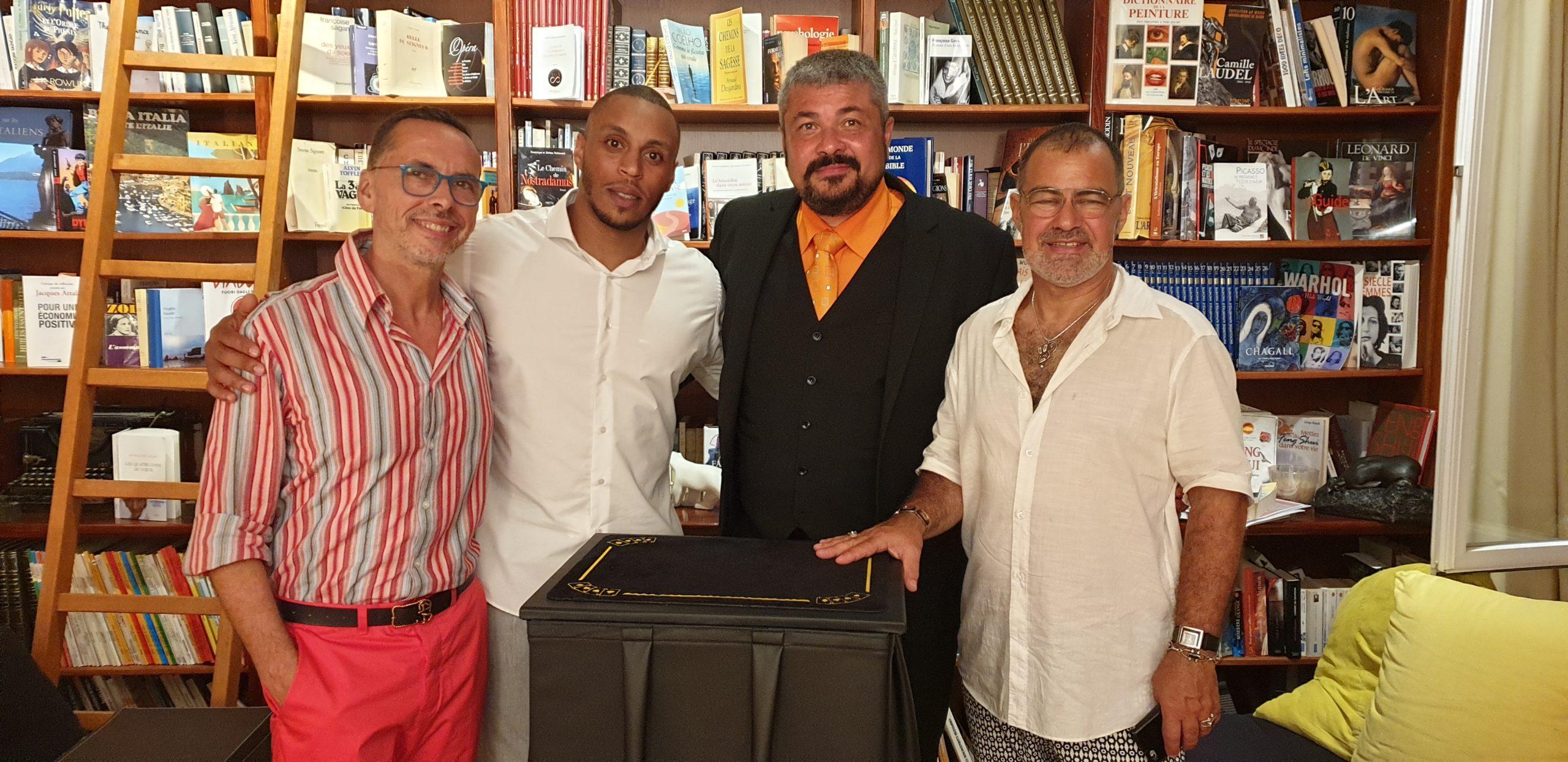 Sylvain Ruffier, Eric Katz et Yassir