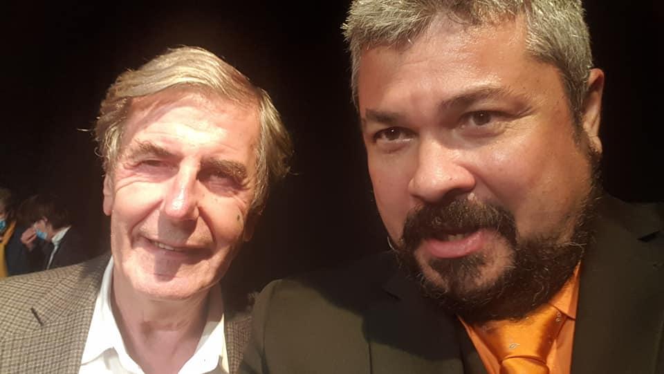 Avec Bernard Menez