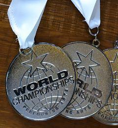 silver medal WCOPA